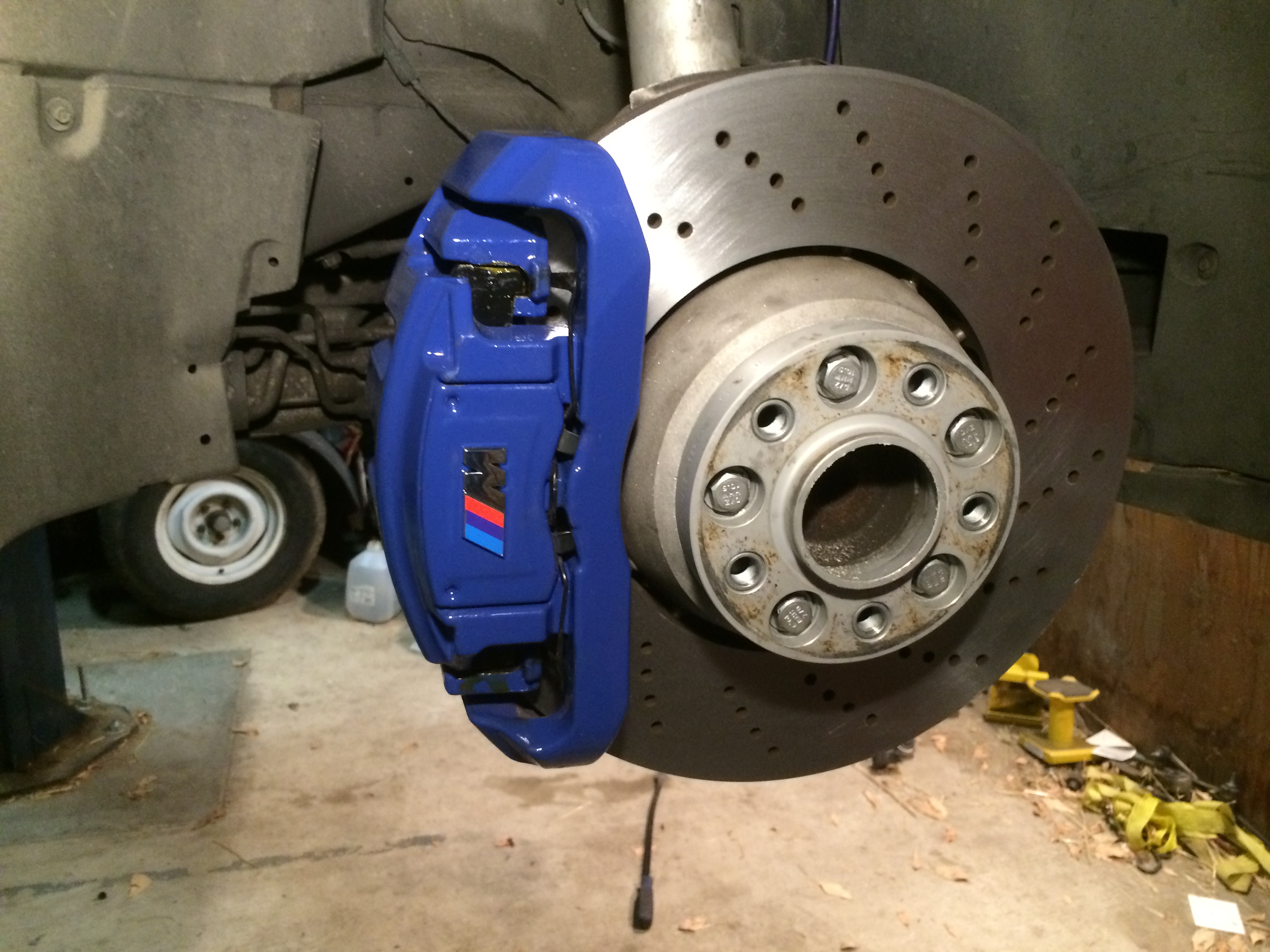 Finnally Completed The Caliper Coating Project Page 2 Bmw M5 Forum And M6 Forums